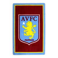 Click to zoom in on Aston Villa Carpet Rug 100cm x 67cm