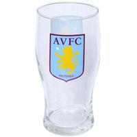 Click to zoom in on Aston Villa 20oz Tulip Glass