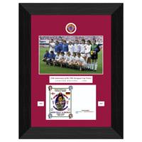 Aston Villa Limited Edition 82 Commemorative Framed Postal Cover