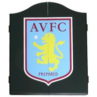 Click to zoom in on Aston Villa Deluxe Dart Board Cabinet