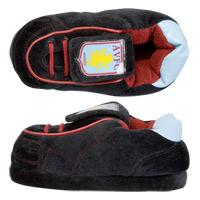 Aston Villa Boot Slipper - Black - Boys