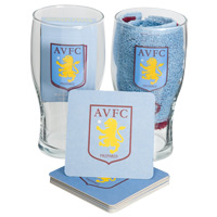 Click to zoom in on Aston Villa Home Bar Set
