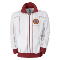 Click to zoom in on Aston Villa Champions of Europe Away Jacket - White/Claret