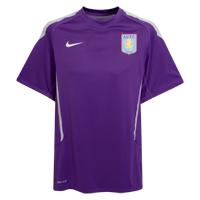 Click to zoom in on Aston Villa Cut and Sew Training Top - Club Purple/Jetstream - Kids