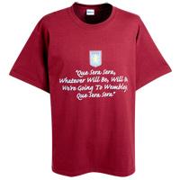 Click to zoom in on Aston Villa FA Cup Semi Final 2010 T-Shirt - Claret