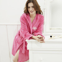 Click to zoom in on Aston Villa Robe - Pink - Womens