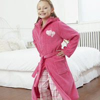 Click to zoom in on Aston Villa Robe - Pink - Girls