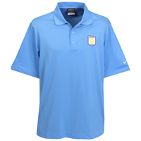 Aston Villa Nike Golf Dri-Fit Tech Solid Polo - Long Sleeved - University Blue