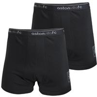Aston Villa 2pk Boxers - Black