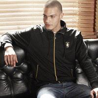 Click to zoom in on Aston Villa Fashion Track Jacket - Black