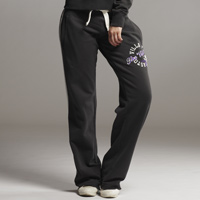 Click to zoom in on Aston Villa Applique Jog Pants - Charcoal - Womens