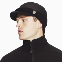 Aston Villa Quilted Storm Hat - Charcoal