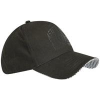 Click to zoom in on Aston Villa Rubber Print Cap - Black