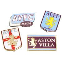 Aston Villa Four Badge Set
