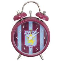 Click to zoom in on Aston Villa Mini Bell Alarm Clock