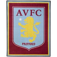Click to zoom in on Aston Villa Carpet Rug - 114cm x 86cm