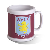Click to zoom in on Aston Villa Embossed Crest Mug