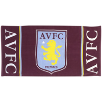 Click to zoom in on Aston Villa Crest Velour Towel