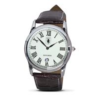 Aston Villa Leather Strap Watch
