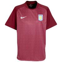 Aston Villa Pre Match Top - Team Red/University Blue/White