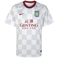 Click to zoom in on Aston Villa Away Shirt 2011/12