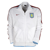 Aston Villa Authentic N98 Jacket - White/Team Red