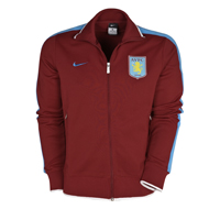 Click to zoom in on Aston Villa Authentic N98 Jacket - Team Red/University Blue