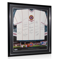 Aston Villa Limited Edition 1982 European Cup Winners Framed Signed Shirt