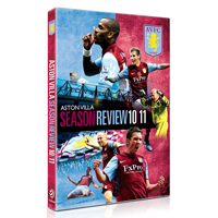 Aston Villa 2010/11 Season Review DVD