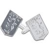 Aston Villa Silver Crest Cufflinks
