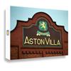 Aston Villa Mosaic Canvas