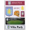 Aston Villa A5 Magnet Pack
