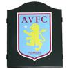 Aston Villa Deluxe Dart Board Cabinet