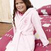 Aston Villa Hooded Robe - Pink - Girls