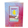Aston Villa 3D Crest Card