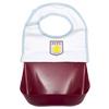 Aston Villa Detachable Bib - includes 3 Bibs