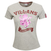 Aston Villa Villans T-Shirt - Grey Marl - Womens