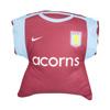 Aston Villa Home And Away Shirt Cushion
