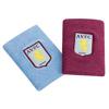 Aston Villa Jumbo Wristbands - Claret/Sky Blue