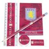 Aston Villa 5 Piece Stationery Set