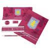 Aston Villa 6 Piece Stationery Set