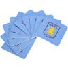 Aston Villa Set Of Ten Beer Mats