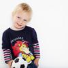 Aston Villa Mock Layer Long Sleeve T-Shirt - Navy - Infant Boys