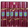 Aston Villa Christmas Crackers x 6