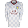 Aston Villa Away Shirt 2011/12 - Long Sleeved