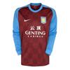 Aston Villa Home Shirt 2011/12 - Long Sleeved
