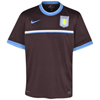 Aston Villa Pre Match Top - Deep Burgundy/White/University Blue