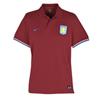 Aston Villa Authentic Grand Slam Polo - Team Red/University Blue