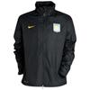 Aston Villa Basic Rain Jacket - Black/Varsity Maize