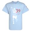 Aston Villa Darren Bent T-Shirt - Sky/Claret